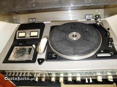 Aparelhagem Vintage -Crown- Stero Music Center