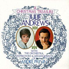 LSP3829 - Andrews, Julie Christmas Treasure Orchestra, Harpsichord, & Arrangements of Andre Previn