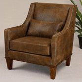 Found it at Wayfair - Clay Leather Arm Chair