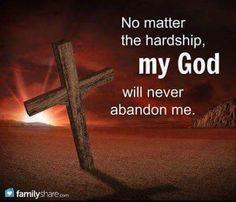 He never has..