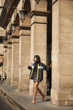 Bruna Marquezine for L'Officiel Brasil by Leo Faria Fashion Story, World Of Fashion, Paris Fashion, Miu Miu, Leo, Classy Street Style, Best Club, Pose For The Camera, Herschel Heritage Backpack
