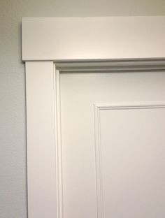 Upgrade flat panel door with trim. Drastic difference for not a lot of work.
