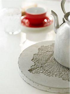 Concrete hot plate