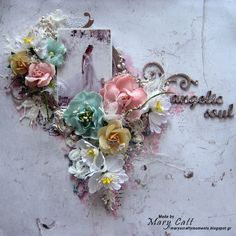 Mary's Crafty Moments: ''Angelic Soul'' - GD Layout for Mixed Media & Art...