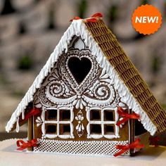 Gingerbread House Template, Cool Gingerbread Houses, Gingerbread House Designs, Christmas Gingerbread House, Christmas Treats, Christmas Baking, Gingerbread Cookies, Christmas Cookies, Christmas Time