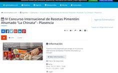 "El IV Concurso de Recetas Pimentón Ahumado La Chinata en Extremadura.com/ The IV International Smoked Paprika Powder ""La Chinata"" Recipes Contest – in Extremadura.com #contest #concurso #lachinatacom"
