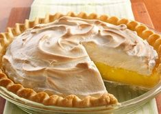 Alton Brown's Lemon Meringue Pie recipe from Good Eats on Food Network is sweet and tart; it's a classic citrus dessert topped with creamy toasted meringue. Fruit Recipes, Cake Recipes, Sultana Cake, Orange Sponge Cake, Lemon Brownies, Cream Pie Recipes, Lemon Meringue Pie, Best Chocolate Cake, Hungarian Recipes