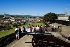 Start your Causeway Coastal Journey off in the historic city of Derry.
