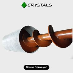 Screw Conveyor Shot blasting machines require screw conveyor, Shot blasting screw conveyor for conveying shots/abrasive from one point to another. It is also used in the rotary screen, which helps in separating the foreign particle from the abrasive. We manufacture screw conveyors as per our customer's size and requirement. #screwconveyor #crystalsgroup #conveyor #machines Visit - http://crystals-group.com/