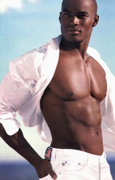 Tyson Beckford - the most gorgeous black man I've ever seen and soon to be my new husband!