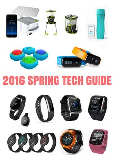 As warmer temperatures creep in, the newest tech gadgets are here just in time to help you meet your active goals this spring. Whether you're in the market for the perfect fitness tracker, a completely synced up health package or a GPS-enabled watch, we've reviewed the latest and greatest in the tech world. Here's what made our list. 2016 Spring Tech Guide http://www.active.com/fitness/articles/2016-spring-tech-guide?cmp=17N-PB33-S34-T6---1140