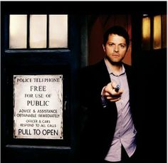 I just would love to see Misha as the doctor once...