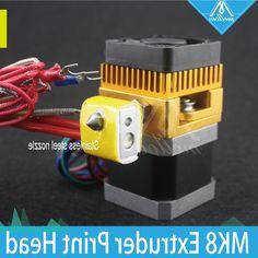 38.88$  Watch here - https://alitems.com/g/1e8d114494b01f4c715516525dc3e8/?i=5&ulp=https%3A%2F%2Fwww.aliexpress.com%2Fitem%2F3D-Printer-Print-Head-MK8-Extruder-J-head-Hotend-Stainless-steel-Nozzle-0-4mm-1-75%2F32785970625.html - 3D Printer Print Head MK8 Extruder J-head Hotend Stainless steel Nozzle 0.4mm 1.75 Filament for Makerbot, Prusa i3