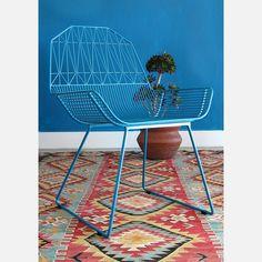 Farmhouse Chair Peacock Blue by Bend