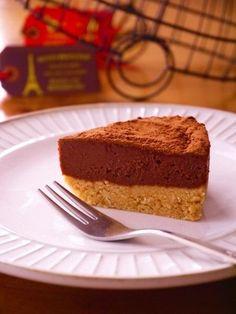 オーブン不要!焼かずに作れる簡単「生チョコタルト」の作り方