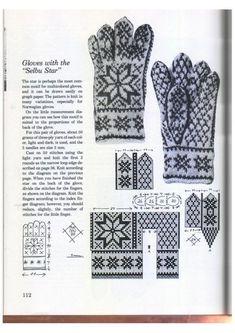 Knitting in the Nordic Tradition - Monika Romanoff - Picasa Web Albums Mittens Pattern, Knit Mittens, Knitting Socks, Free Knitting, Crochet Chart, Knit Crochet, Knitting Stitches, Knitting Patterns, Norwegian Knitting
