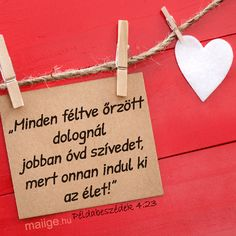 Mai Ige | Keresztyén Média UCB Hungary Alapítvány - Igefolyam | Mai Ige Diy And Crafts, Arts And Crafts, King Of My Heart, Christian Quotes, Bible Quotes, Prayers, Spiritual, Inspiration, Faith