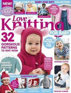 Stricken Baby :Love Knitting for Babies 2015 11 , Baby Knitting Patterns, Baby Knitting Books, Love Knitting, Simply Knitting, Baby Cardigan Knitting Pattern, Crochet Books, Knitting For Kids, Knit Or Crochet, Baby Patterns