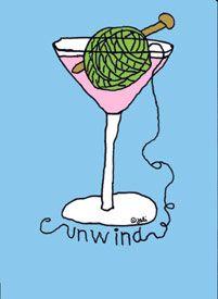 How do you unwind? #knit #knitting #artofknitting