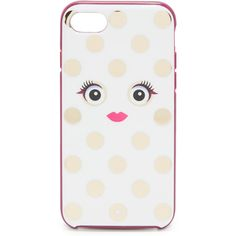 Kate Spade New York Framed Picture Dot Monster IPhone 7 Case ($40) ❤ liked on Polyvore featuring accessories, tech accessories and kate spade