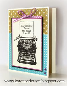 Karen Pedersen: April Specials and News with Close To My Heart + Friendship Card