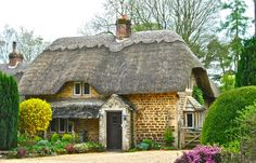Thatched Cottage , Wiltshire, England