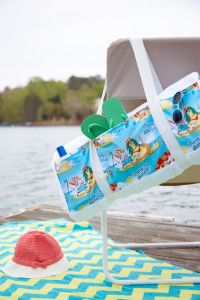 Frozen towel and beach bag! Find Frozen fabric at Joann.com