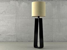 Holly Hunt Bocca Floor Lamp 3d model   Christian Liaigre