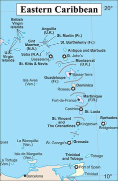 maps of the caribbean sea  CaribbeanMapCartejpg  Places to