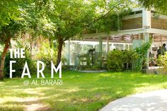 The Farm Al Barari Dubai Middle East. Beautiful food, beautiful greenery :)