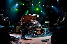 Sal Coz Costa rockin out with Betty by Karen Van Hoff in Cleveland, OH on 7-25-2011 - My Darkest Days