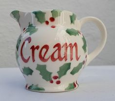 Personalised Little Holly Tiny Jug 2016 (Discontinued)
