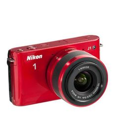 Stunning Red coloured Nikon 1 J1 10.1MP SLR   http://www.snapdeal.com/product/electronic-digital-slrs/Nikon1J110-60986?pos=1;23