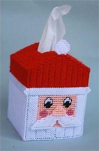 Santa Tissue Box Cover
