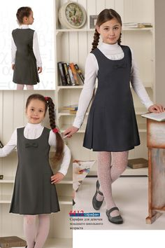 Чики Рики: Kaysarow. Коллекция школьной формы для девочек и мальчиков Kids Uniforms, School Uniforms, School Uniform Girls, Little Girl Models, Little Girl Outfits, Preteen Girls Fashion, Kids Fashion, Toddler Dress, Baby Dress