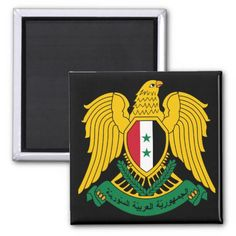Shop syria coat of arms magnet created by flagart. Syria Flag, Political Events, Round Magnets, National Flag, Paper Cover, Coat Of Arms, Flags, Create Yourself, Banner