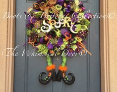 halloween wreaths – Etsy UK