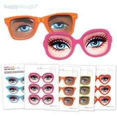 Ken & Barbie Printable Party Prop or Mask!