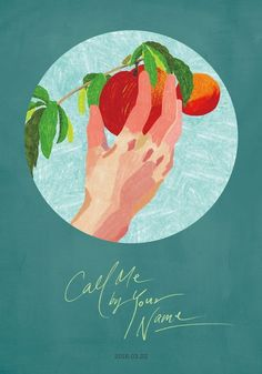 Alternative Call Me By Your Name movie poster (x) Illustration Inspiration, Illustration Art, Your Name Movie, Call Me By, Name Drawings, Name Art, Design Graphique, Illustrations And Posters, Aesthetic Art