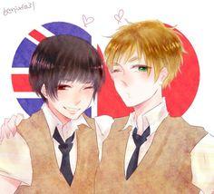 AsaKiku, EnglandxJapan~♡