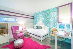 JAC Interiors, Kids Bedroom, Colorful Modern Kids Bedroom, Interior Design