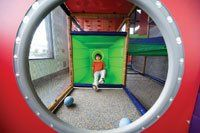 Indoor play spaces in north Seattle