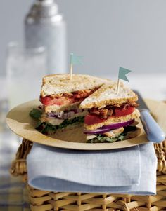 Triple Decker Chicken Sandwich