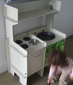 Little Cardboard Kitchen from forty-two roads by forty-two roads, via Flickr
