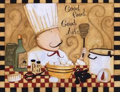 Good Food Good Life Fine-Art Print by Dan Dipaolo at FulcrumGallery.com