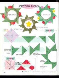 Wreath Origami