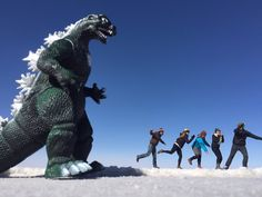 """When you're travelling in Bolivia, the must-see attraction are the 12,000 sq km """"Salar de Uyuni"""" salt flats, the largest in the world."""