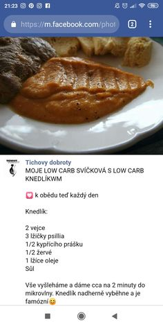 Low Carb Diet, Diet Recipes, Food And Drink, Meals, Lifestyle, Meal, Skinny Recipes, Yemek, Food