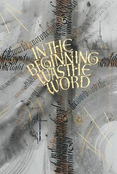 John 1 In the beginning the Word already existed.      The Word was with God,      and the Word was God.  2 He existed in the beginning with God.  3 God created everything through him,      and nothing was created except through him.