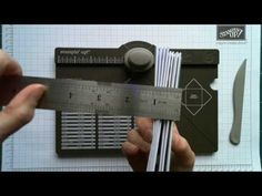 Make Any Size Box Using Your Stampin' Up! Envelope Punch Board and Box Buster from The Crafty Owl - YouTube